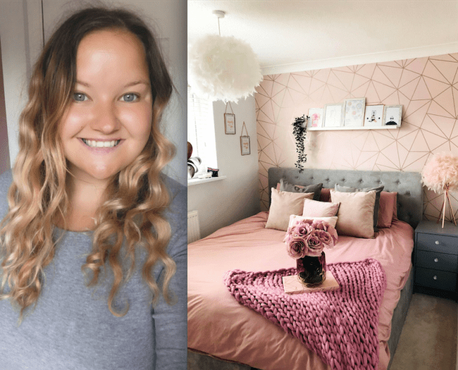 Woman completely revamps run-down house for just £5k