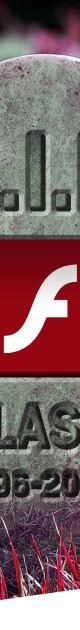 Flash finally dead as Adobe ends support for iconic browser plugin