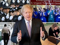 Boris Johnson and public sector workers