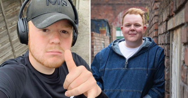 Colson Smith before and after weight loss