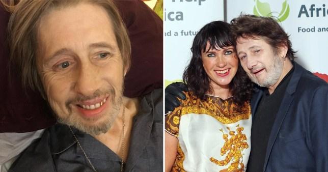 Shane MacGowan and Victoria Mary Clarke