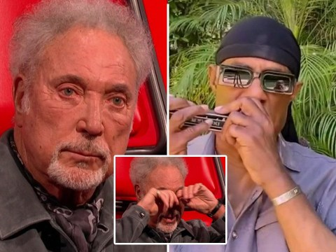 The Voice UK: Tom Jones moved to tears as Stevie Wonder makes surprise appearance