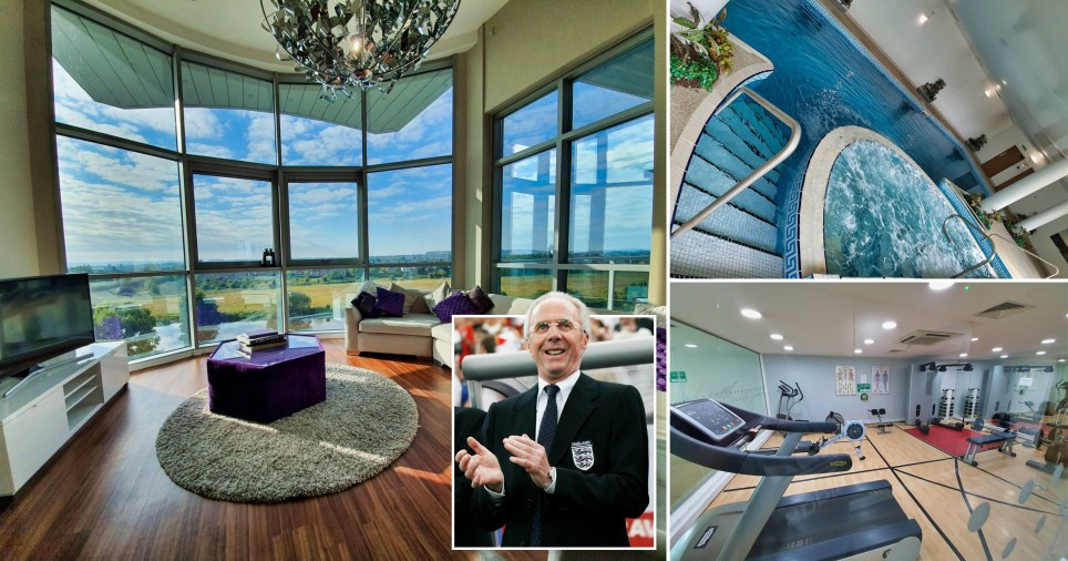 Ex-England football manager's £500,000 penthouse on sale for £4