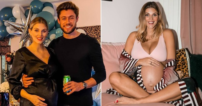 Ashley James and boyfriend Tom Andrew welcome their son