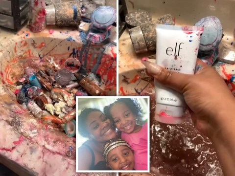 Naughty children destroy makeup artist mum's products worth thousands of dollars