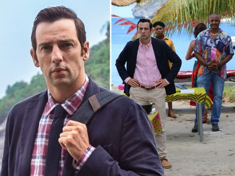 Ralf Little recalls 'Herculean effort' to finish filming for Death in Paradise in time
