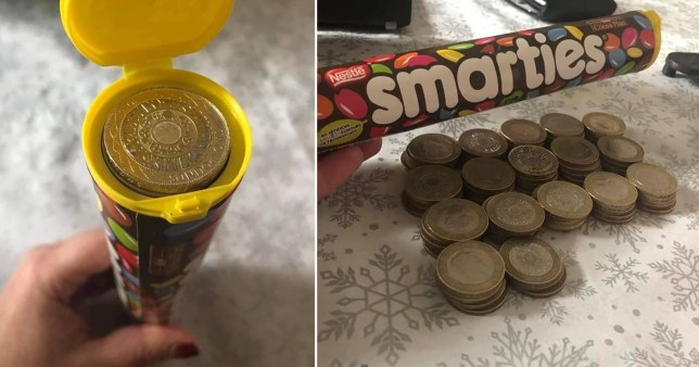 Save £66 with an old smarties tube
