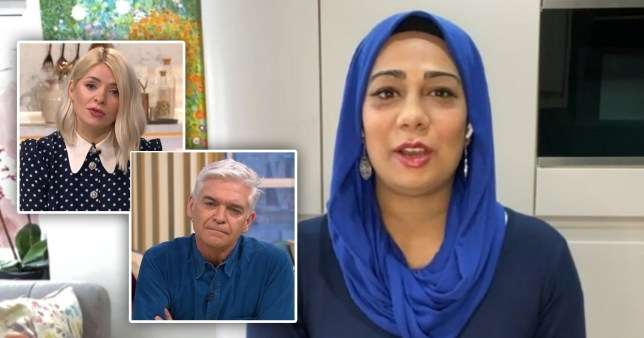 Dr Nighat Arif on This Morning with Holly Willoughby and Phillip Schofield