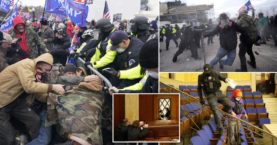 Police regain control of US Capitol after violent protests leave one dead