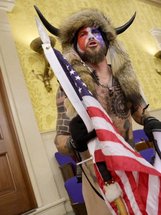 The mob who stormed the Capitol identified including Qanon leader