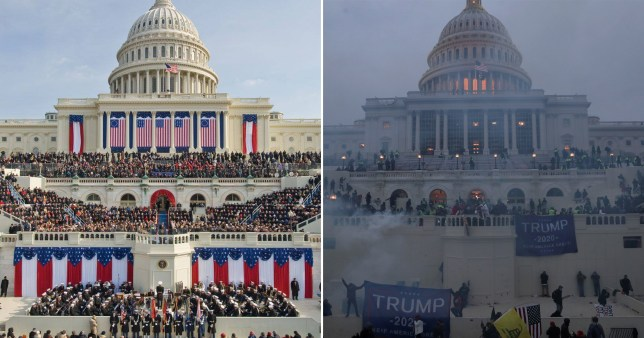 How It Started and How Its Going - Capitol Building
