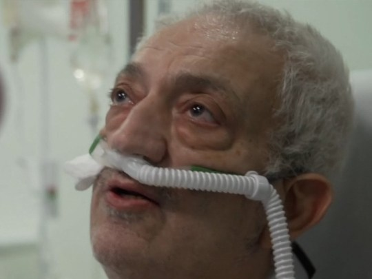Coronavirus patient  Atilla, 67,
