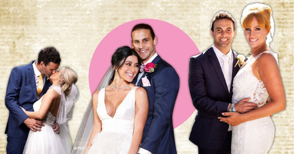 Married At First Sight Australia: Jesskia Power, Mick Gould, Marthan Kalifatidis, Michael Brunelli, Cam Merchant and Jules Robinson