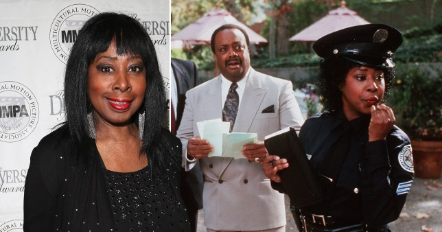 Marion Ramsey on red carpet and in Police Academy