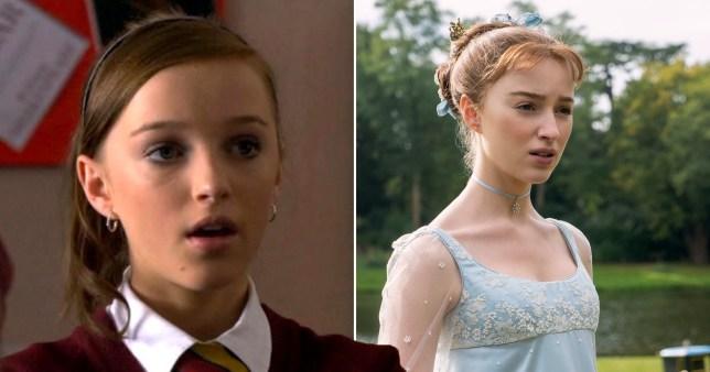 Bridgerton's Phoebe Dynevor starred in Waterloo Road