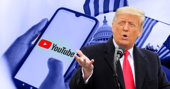 YouTube bans Trump for 'minimum of seven days' after deadly Capitol riots