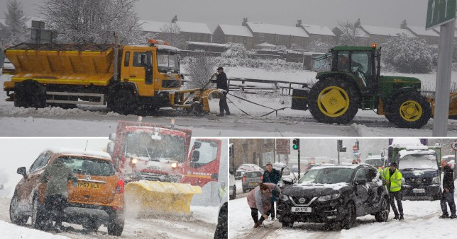 Heavy snow brings huge parts of Yorkshire to a grinding halt 2