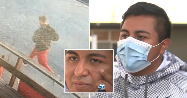 Jogger attacked and hurled racial slurs at walker for wearing a face mask
