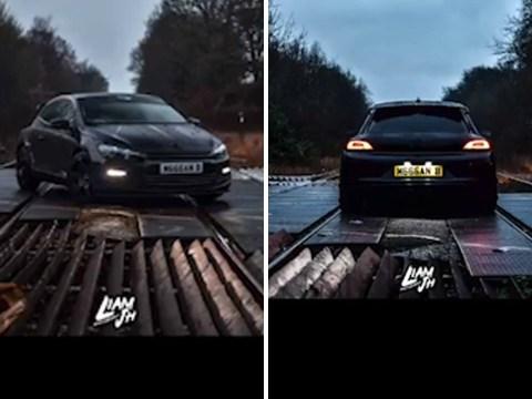 TikTok video of car parked on live railway tracks slammed as 'sheer stupidity'