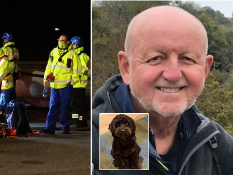 Huge search for dad who went missing on seafront walk with his dog