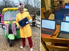 Kind tech whizz refurbishes old laptops and donates to working-class families
