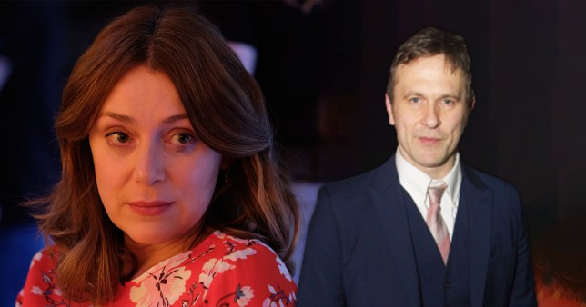 Keeley Hawes and Jason Merrells in Finding Alice