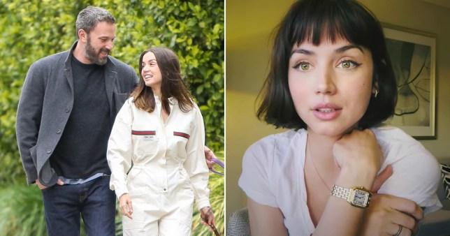 Ana de Armas reveals bold new haircut after Ben Affleck split   Metro News