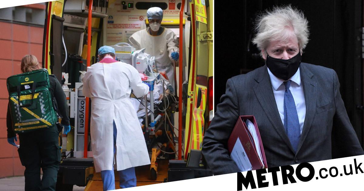 Boris warns 'more people will die' on UK's deadliest day of pandemic - Metro.co.uk