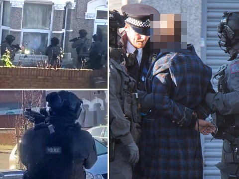 Police in 24-hour stand-off as 'man with gun refuses to leave house'