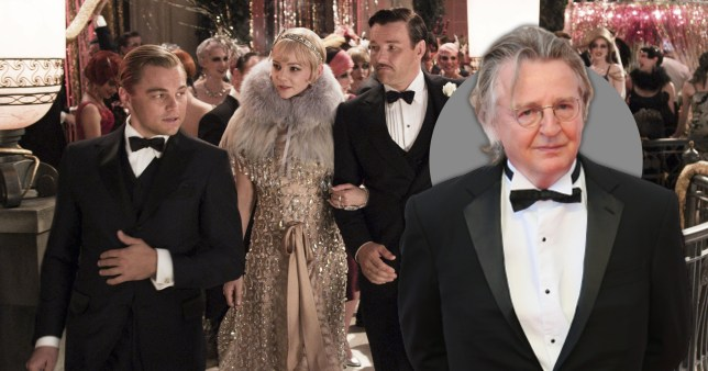 Great Gatsby cast and Michael Hirst