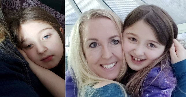 Girl, 8, hit so hard by long Covid she couldn't go to school six months later 2