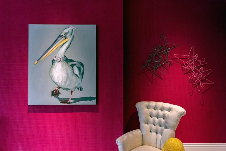 Pink sitting area, Jacqueline de Rojas