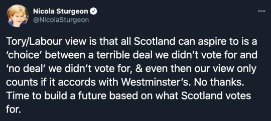 Nicola Sturgeon tells EU to 'keep the light on' and says 'we'll be back soon'