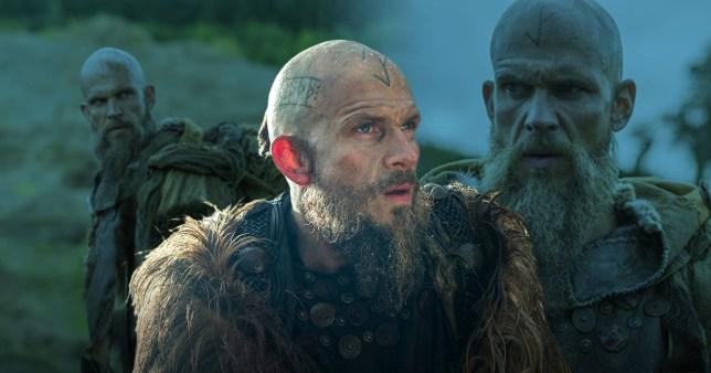 Gustaf Skarsgård as Floki in Vikings