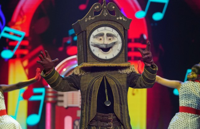 Grandfather Clock on The Masked Singer UK