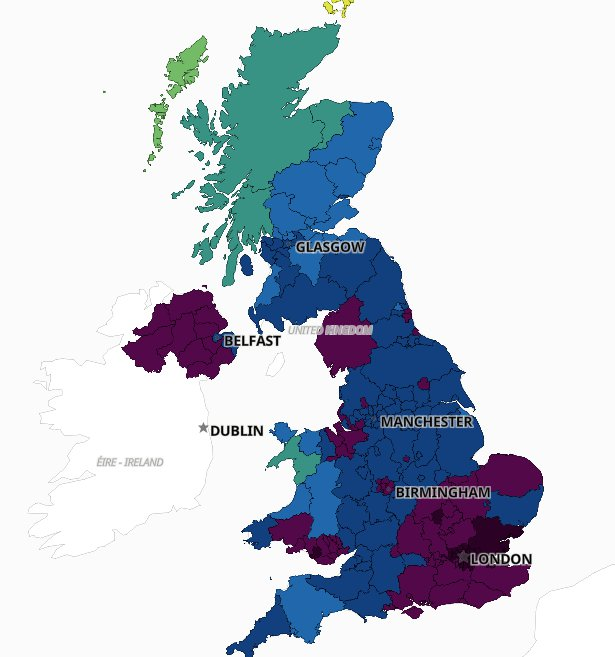 30th Dec Maps show how quickly Covid infection rates are rising in your area Read more: https://metro.co.uk/2021/01/05/maps-show-how-quickly-covid-infection-rates-are-rising-in-your-area-13848276/?ito=cbshare Twitter: https://twitter.com/MetroUK | Facebook: https://www.facebook.com/MetroUK/