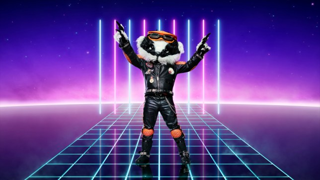 Badger on The Masked Singer