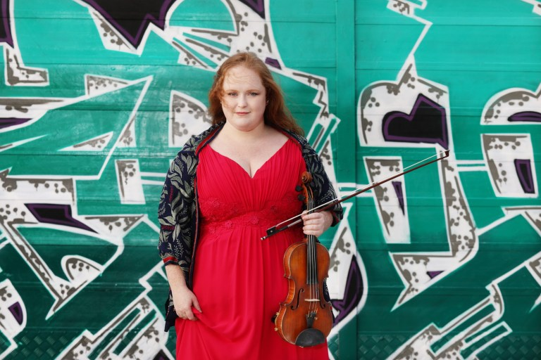 Violinist Róisín Walters