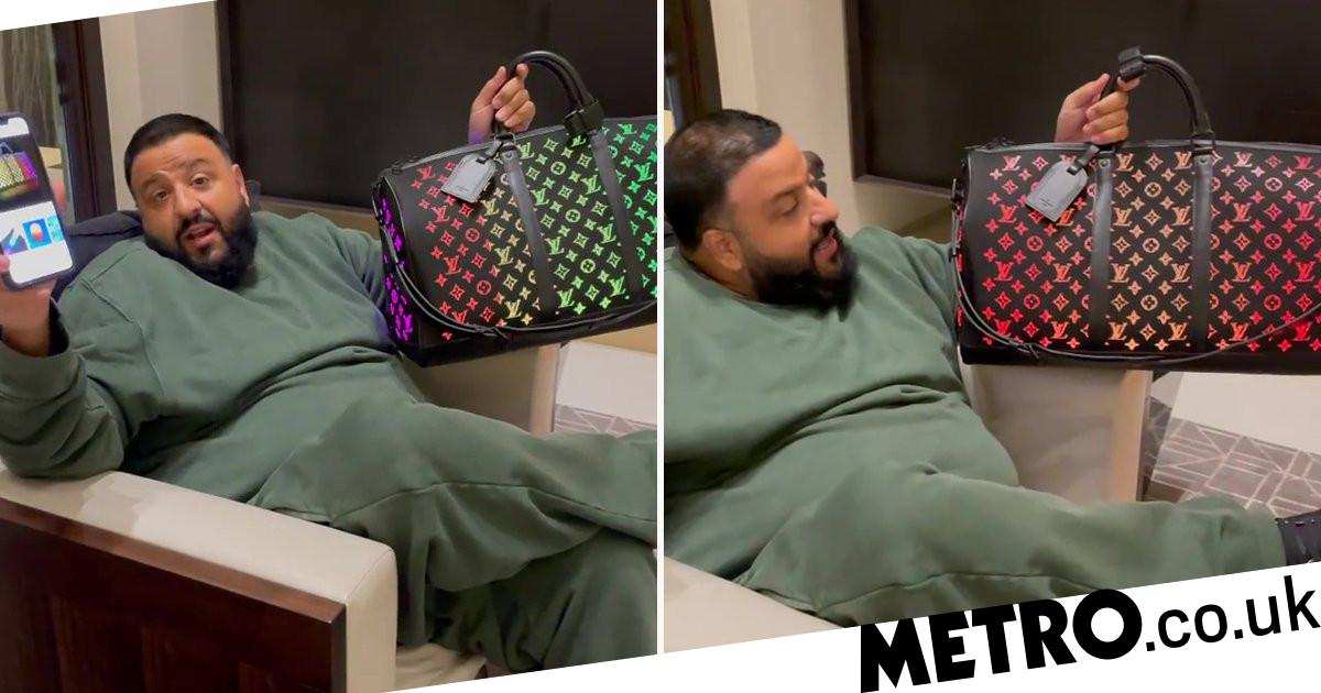 DJ Khaled shows off $26k colour-changing light-up Louis Vuitton bag