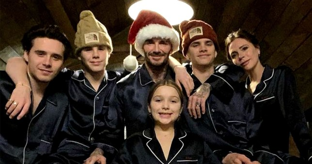 The Beckhams fly to Miami for NYE