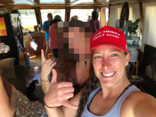 Woman who was shot and killed in the capitol Ashli Babbitt https://twitter.com/Ashli_Babbitt