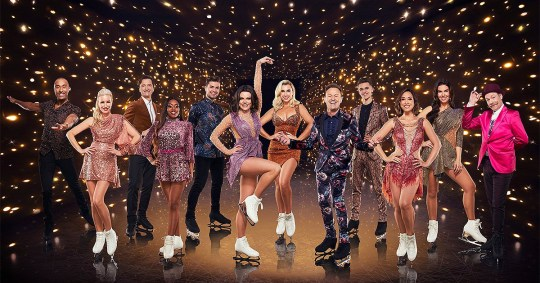 dancing on ice 2020 cast