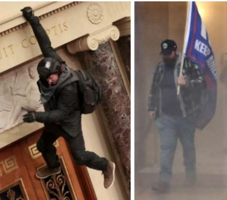 Metropolitan Police Department releases photos listed as persons of interest in the storming of the US Capitol on Jan. 6, 2021.