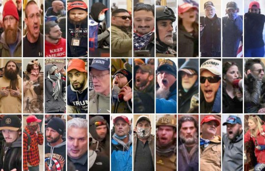 Hunt for MAGA's most wanted: Police release pictures of the Trump rioters who stormed the Capitol as DOJ promises to charge them ALL with federal crimes - but what about the man who incited them? Four people, including two men and two women were killed in the Capitol Hill protests on Wednesday Ashli Babbit, 35, a US Air Force veteran from San Diego, died in the chaos after being shot in the chest by cops Another three victims died after suffering unspecified 'medical emergencies' related to the breach They were identified as: Benjamin Phillips, 50, of Ringtown, Pennsylvania, Kevin Greason, 55, of Athens, Alabama, and Rosanne Boreland, 34, of Kennesaw, Georgia The FBI and various law enforcement agencies are now working together to identify additional suspects wanted federal crimes charges A total of 68 people were arrested near the Capitol between Wednesday afternoon and early Thursday Of those arrests, five were related to unlawful firearm possession and two were for other prohibited weapons