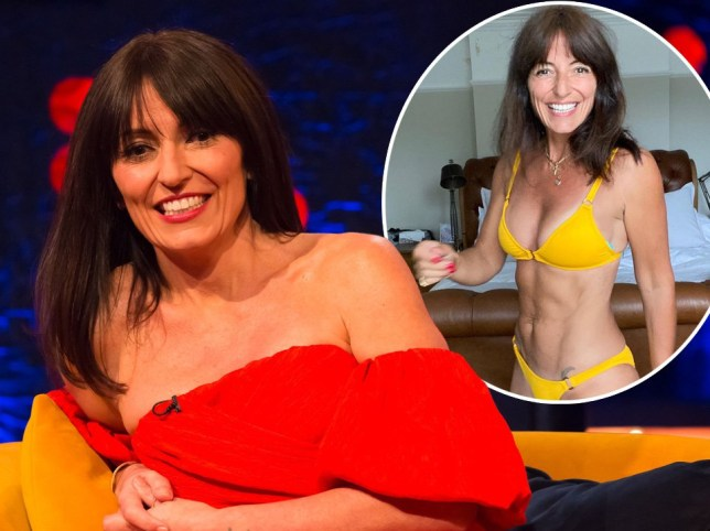 Davina McCall will be using exercise differently