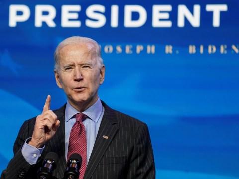 When is Joe Biden sworn in as President?
