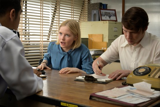 Ellie Bamber and Billy Howle in The Serpent