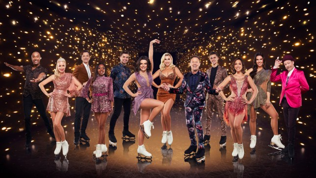 The celebrity contestants for Dancing On Ice 2021