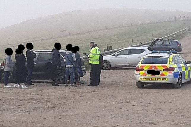 Police officers were stunned to find two car loads of residents 150 miles from Coventry at a Dorset attracrtion. The sightseers have travelled from the city to the picturesque Lulworth Estate in Dorset only for their day out to be scuppered.