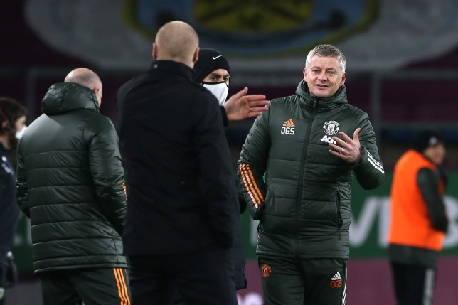 Ole Gunnar Solskjaer was furious with Manchester United's disallowed goal vs Burnley